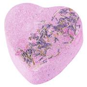 Бомбочка для ванны с лавандой Сердце Розовая