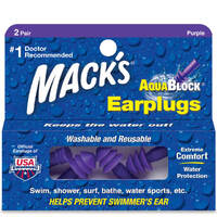 Беруши для плавания Mack's AquaBlock 2 пары