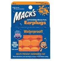 Детские силиконовые беруши для плавания Mack's Kids Size