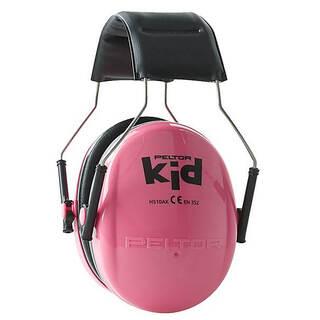 Детские противошумные наушники Peltor Kids розовые