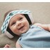 Детские противошумные наушники от 0 до 18 мес Em's 4 Bubs бело-голубая лента