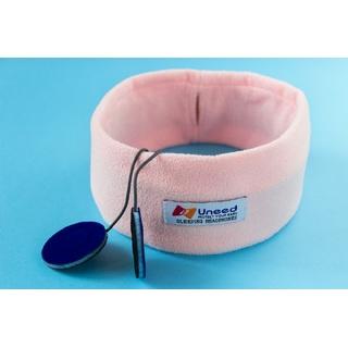 Наушники для сна Uneed розовые с тонким динамиком